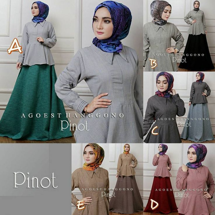 Dress Muslim Pinot by Agoest Hanggono