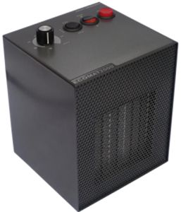 Not cheap (at all) but very, very quiet and efficient. The Ecomat fan heater is great for tents, campervans and motorhomes