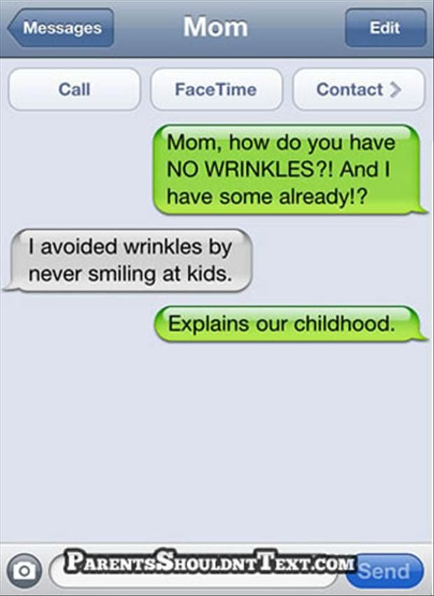 35 Funny Texts From Parents | Bacon Wrapped Media