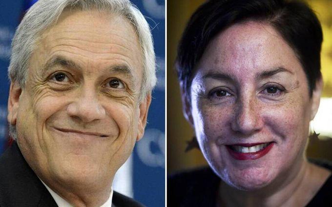 Sebastián Piñera y Beatriz Sánchez candidatos a la presidencia de Chile