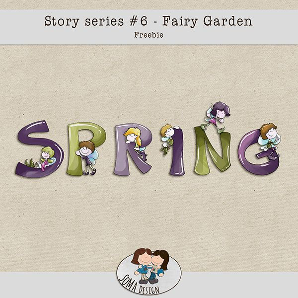 SoMa Design: Fairy Garden - Freebie