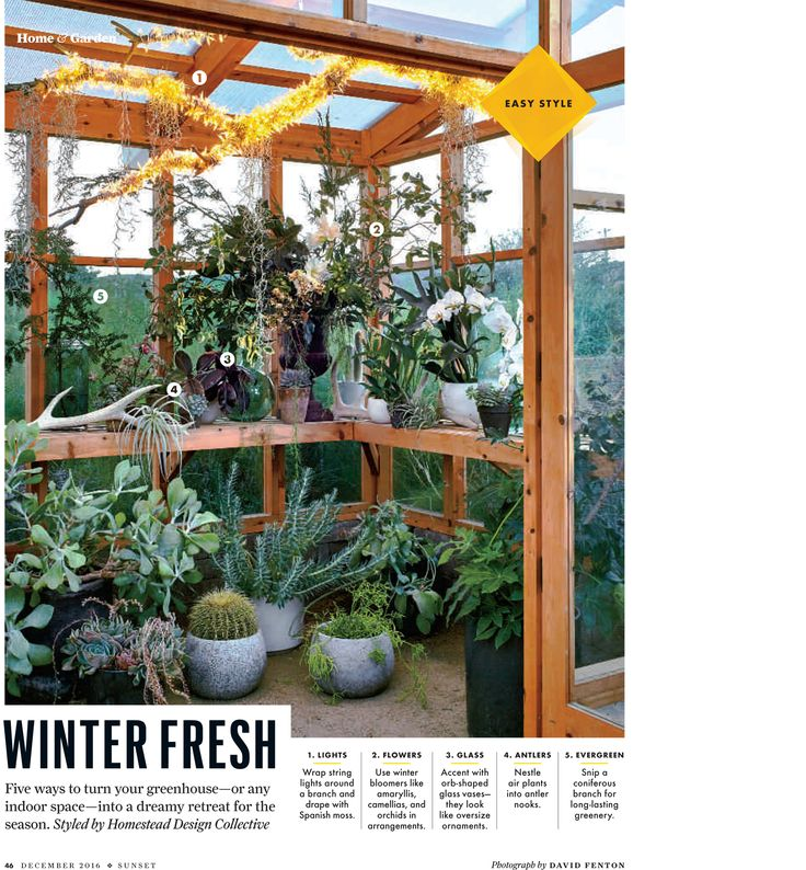 High Quality Homestead In The December 2016 Issue Of Sunset Magazine. December MagazineGardeningOutdoor ...