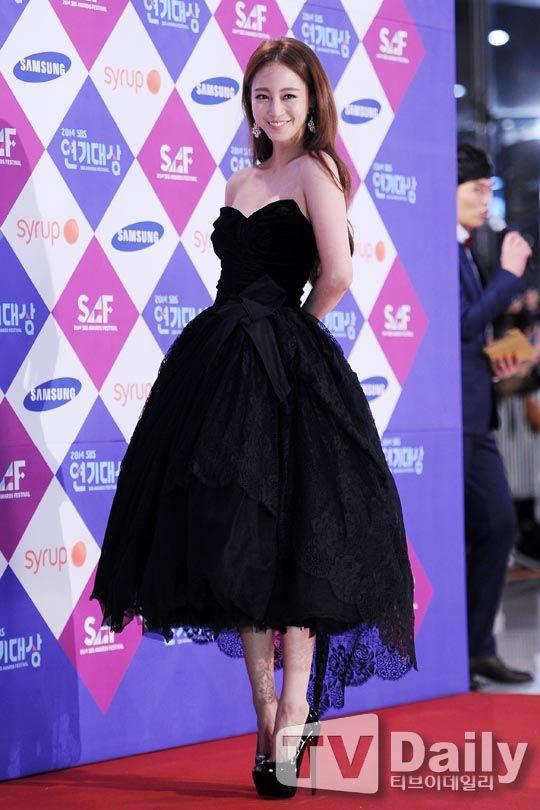 The 15 Best-dressed Korean stars from the 2014 award season: Han Ye Seul