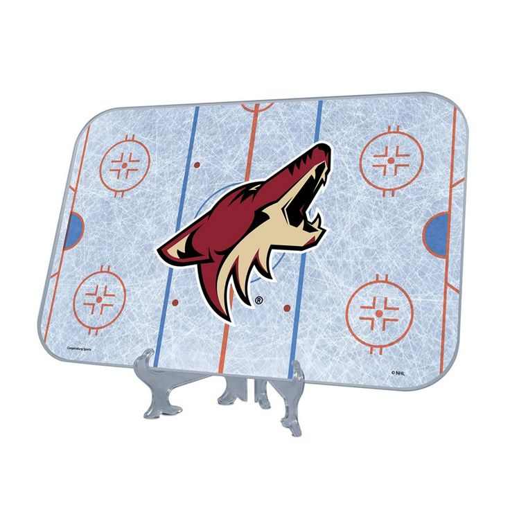 Arizona Coyotes Replica Hockey Rink Display, Multicolor