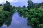 Barnet river crossing north of Gloucester, NSW, Australia