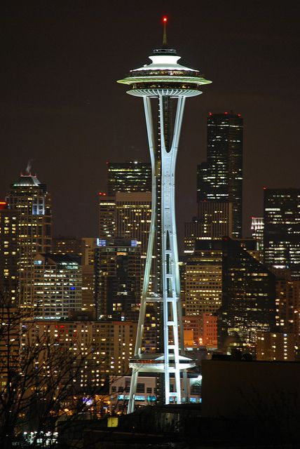 Space Needle, Seattle.  I've been up in there before and look forward to going again.