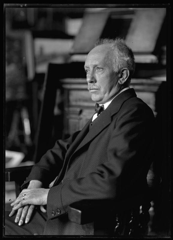 Richard Strauss (1864-1949), photograph (1922), by Ferdinand Schmutzer (1870-1928).