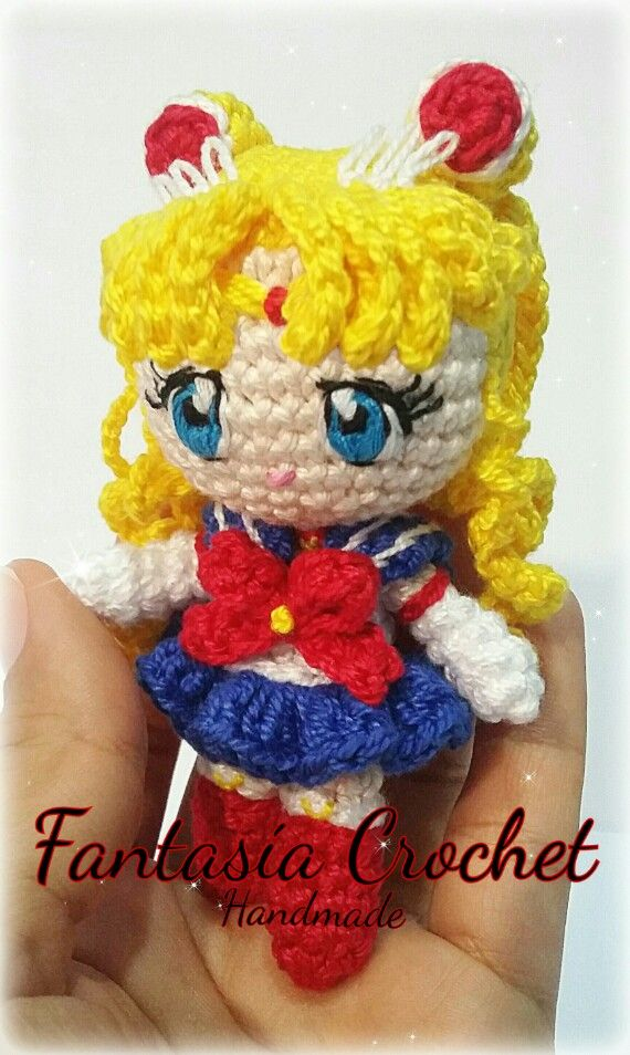 Sailor Moon Crochet Doll  #sailormoon #sailormooncrochet