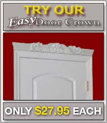 Easy Crown Molding offers Ez-A-Peel crown molding products for your home, allowing you to easily apply crown molding to your home inexpensively and simply.