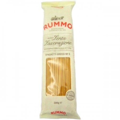 Thick Spaghetti - Slow crafting method by RUMMO #pasta #signature #orderonline #italianfood - Try it now on www.delicitaly.com