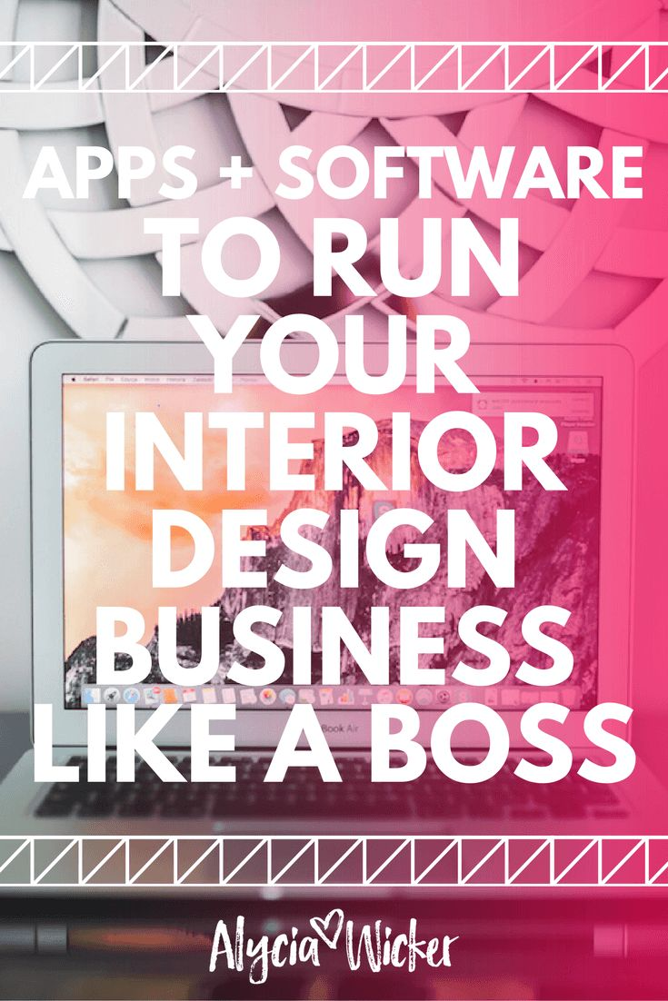 Interior design business software