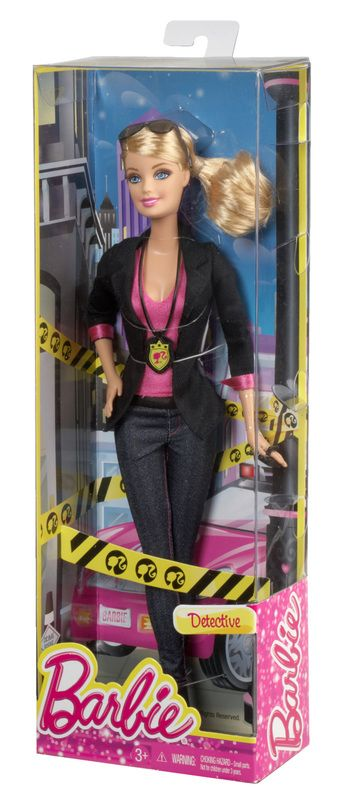 Barbie Careers Detective Doll