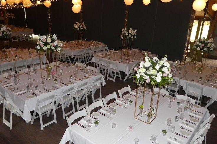 Pulp Shed banquet setup