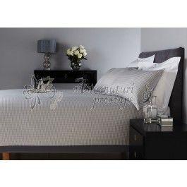 Behrens Hotel Collection Dogtooth - lenjerie de pat de lux king size