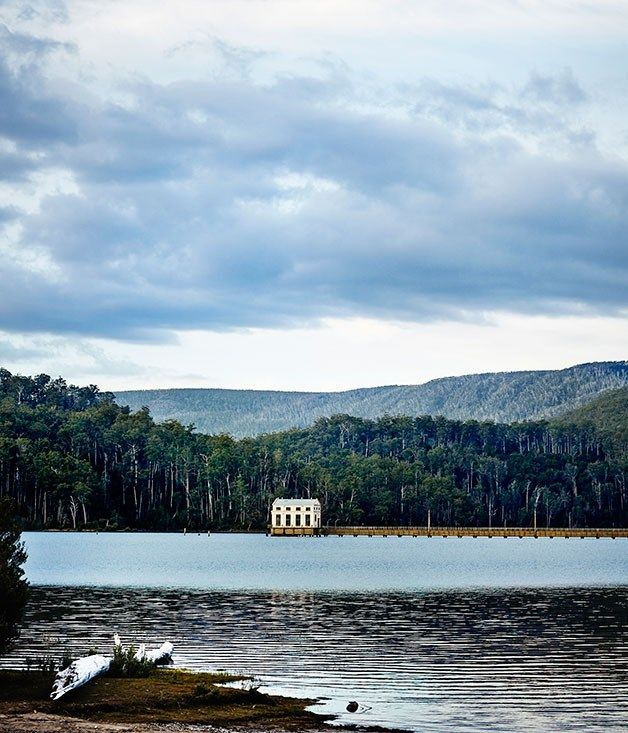 Pumphouse Point, Tasmania :: Gourmet Traveller