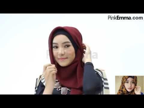 Tutorial Hijab-Tutorial Hijab Segi Empat Untuk Lebaran
