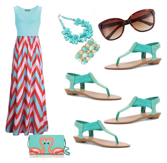 Untitled #96 by sinaga-elvi on Polyvore featuring polyvore, fashion, style, Madden Girl, Kate Spade, Monet and Vince Camuto