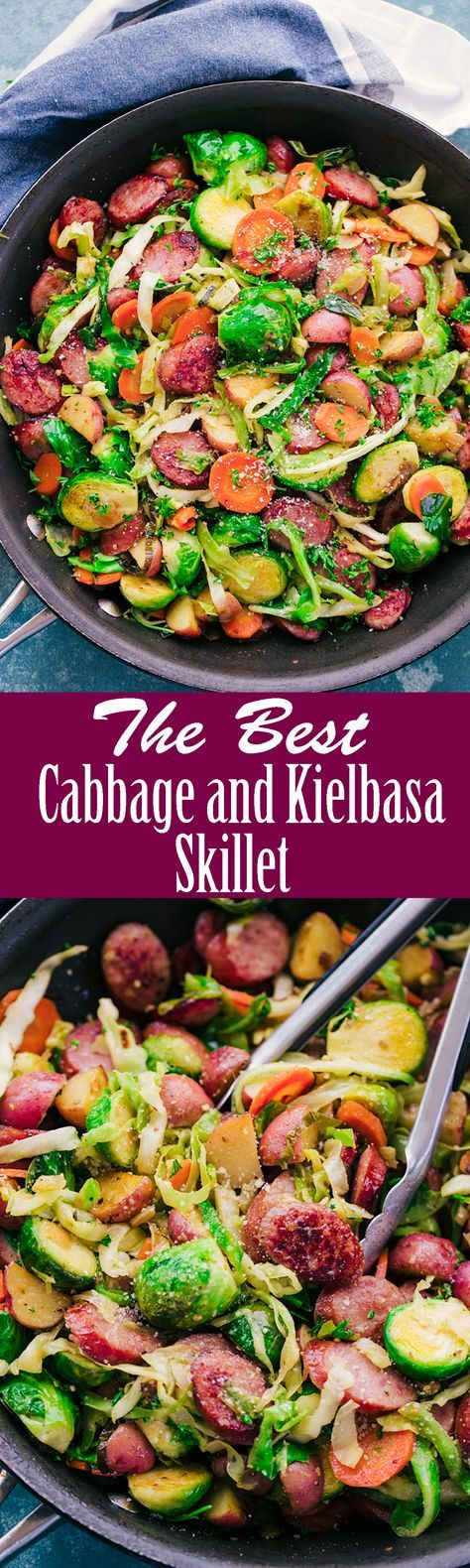 Best Cabbage and Kielbasa Skillet - The Food Cafe