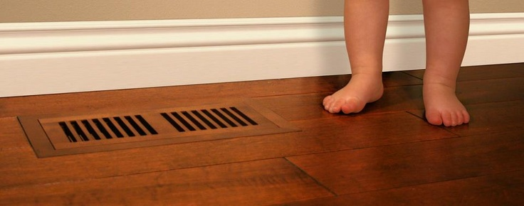 Do your shoes compliment your outfit? Then your vents should compliment your wood floor.