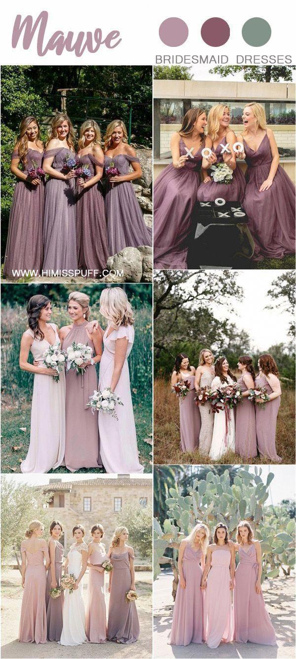 Purple Mauve Dusty Purple Bridesmaid Dresses Weddings Wedding Weddingcolors Wedd Dusty Purple Bridesmaid Dresses Mauve Bridesmaid Dress Mauve Wedding Colors
