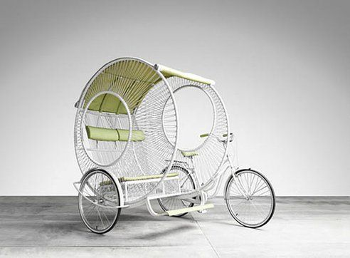 Reinvented Retro-Style Bicycle Rickshaw Gets 'Round : TreeHugger
