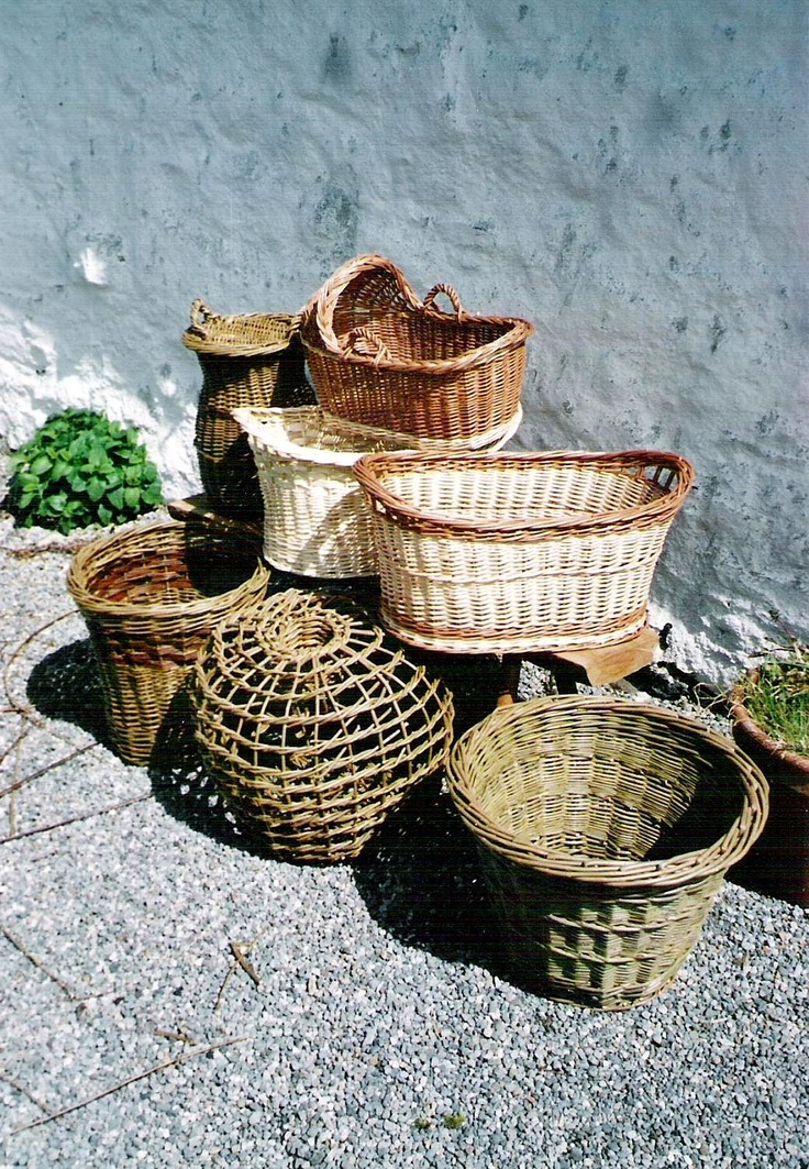 The Traditional Crafts Blog: traditional baskets in Ireland