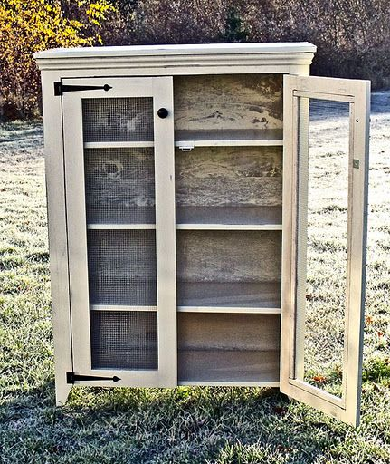 I want to make this! DIY Furniture Plan from Ana-White.com This DIY Jelly Cupboard Plan features a shelves behind doors and primitive styling. Free simple step by step plans to build your own.