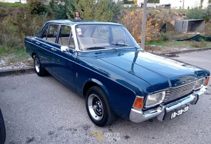 1969 Ford Taunus 20m 2000s V6 Saloon Blue For Sale In Portugal Car For Sale 64821