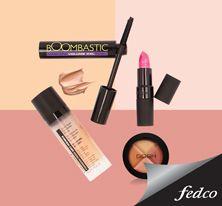 El maquillaje perfecto para lucir ante los partidos de fútbol lo encuentras en Fedco. www.fedco.com.co