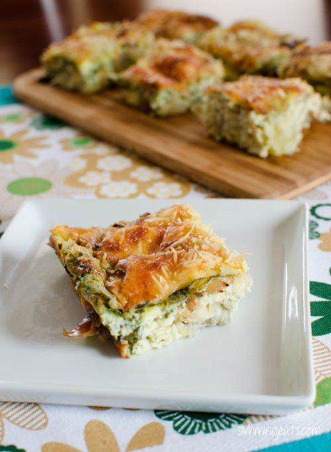 Slimming Eats Recipe Extra Easy – 1 HEa per serving Green – 1 HEa per serving Original – 1 HEa per serving Artichoke, Parmesan and Spinach Quiche   Print Serves 4 Author: Slimming Eats Ingredients 500g tub of fat free cottage cheese 4 cups of spinach 1 400g can of artichoke hearts (not in...Read More »