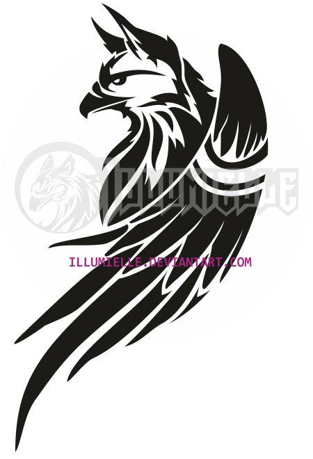Tattoo: Griffin by Illumielle