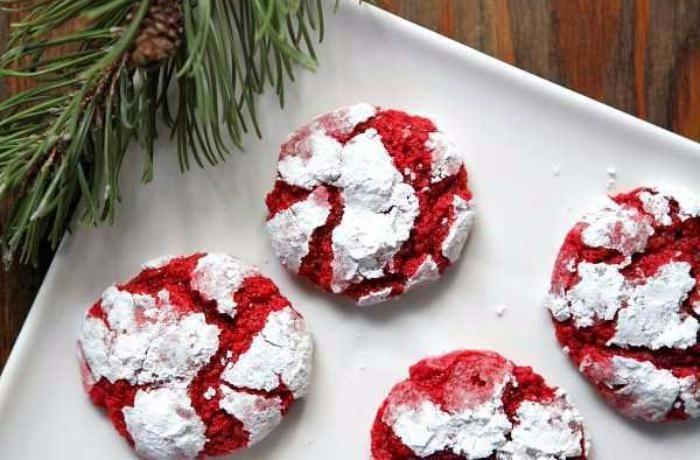 Jemně krémové máslové sušenky Red velvet. Tohle musíte vyzkoušet!