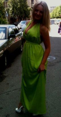 Салатовое платье / Фотофорум / Burda Style