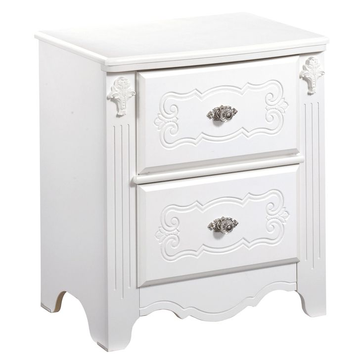 Signature Design by Ashley Exquisite 2 Drawer Nightstand - B188-92
