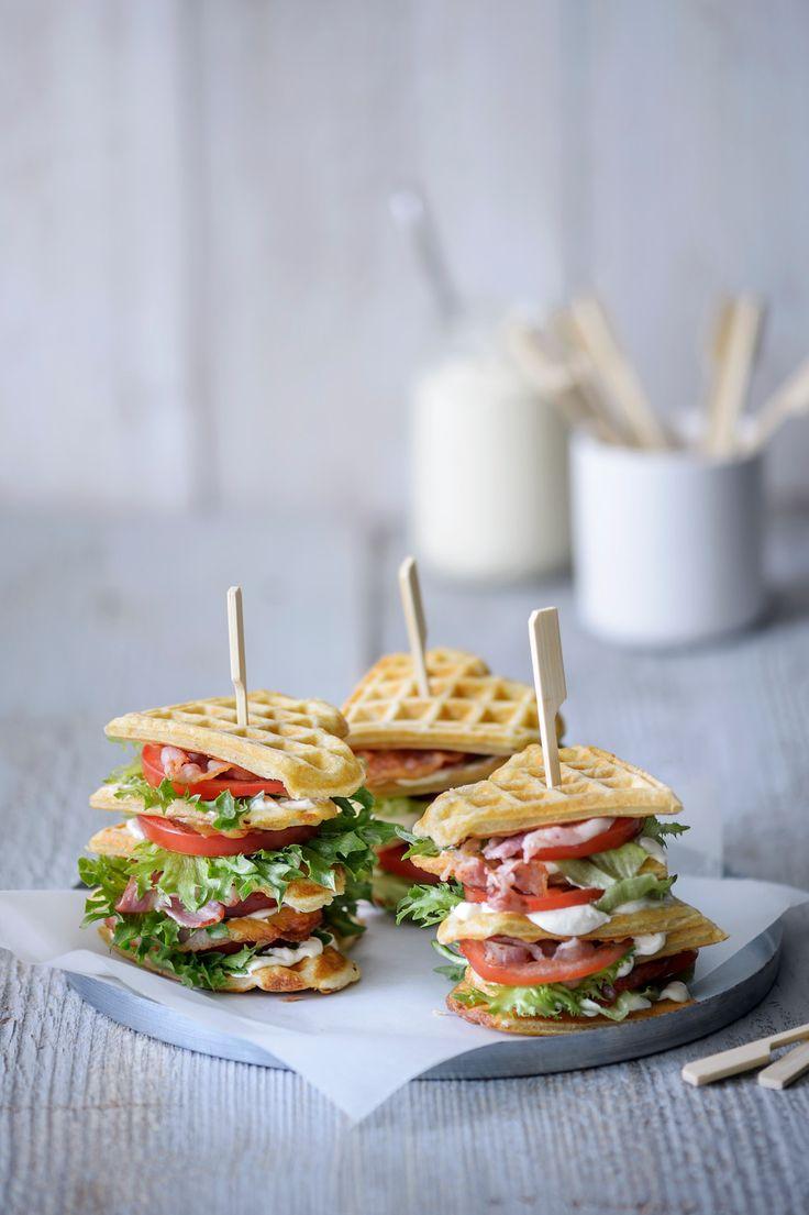 Vohvelisandwich | K-ruoka