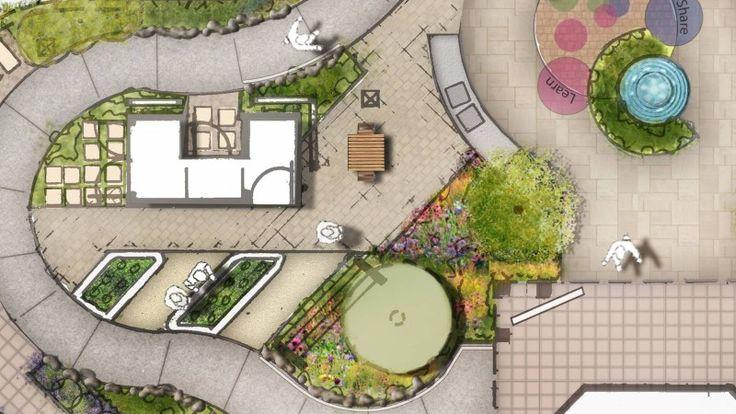 Alzheimer's Australia Memory Garden Design. | symstudio.com