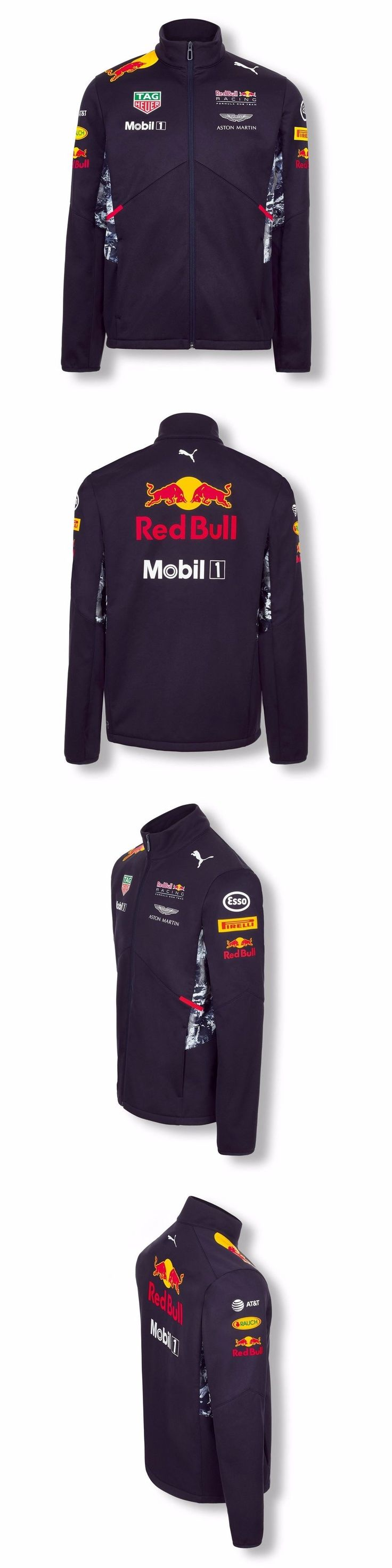 Racing-Formula 1 2876: Jacket Softshell Coat Puma Red Bull Racing Team 2017 Formula One 1 F1 New Us -> BUY IT NOW ONLY: $150 on eBay!