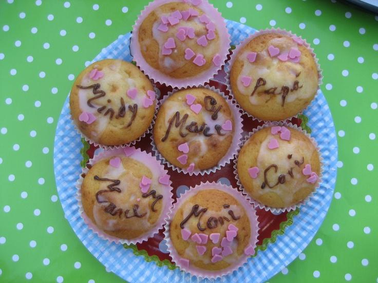 Muffins Matetrinken: Una fiesta en el jardín!