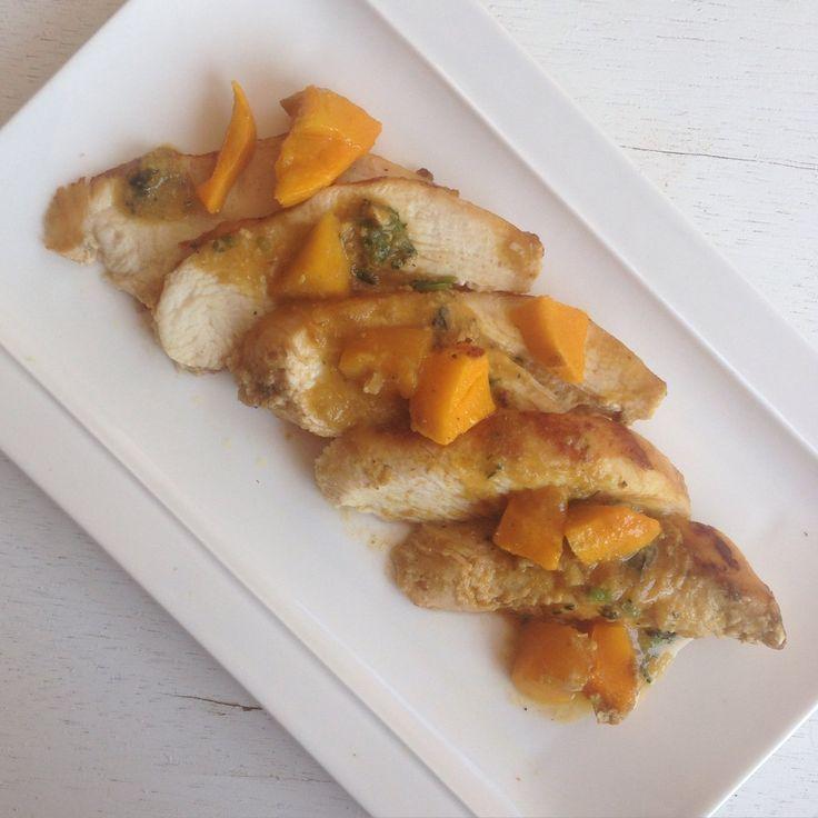 Pollo en salsa de mango - Gastroglam