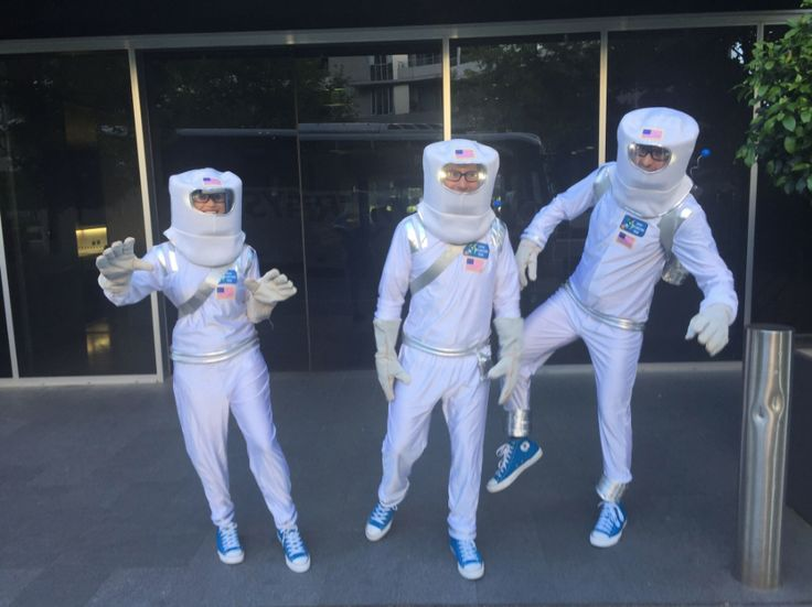 The Pod Squad gets all dressed up at a recent conference in Canberra, Australia! Good fun for a great cause.