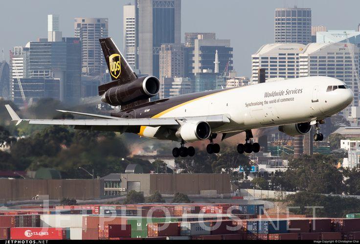 UPS McDonnell-Douglas MD-11F