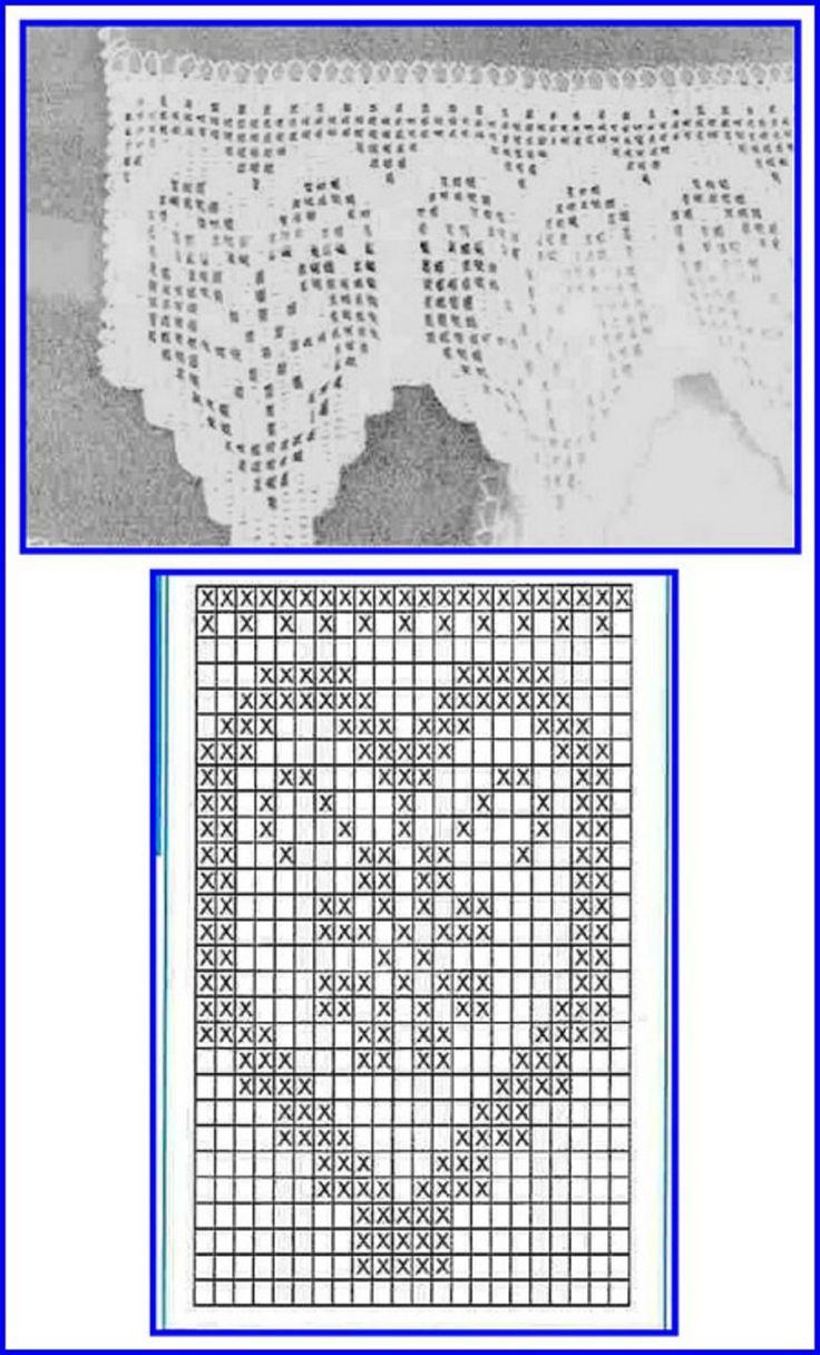 85 mejores imágenes sobre Crochê en Pinterest | Punto de crochet ...