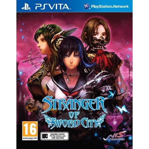 Stranger Of Sword City PS Vita Game | http://gamesactions.com shares #new #latest #videogames #games for #pc #psp #ps3 #wii #xbox #nintendo #3ds