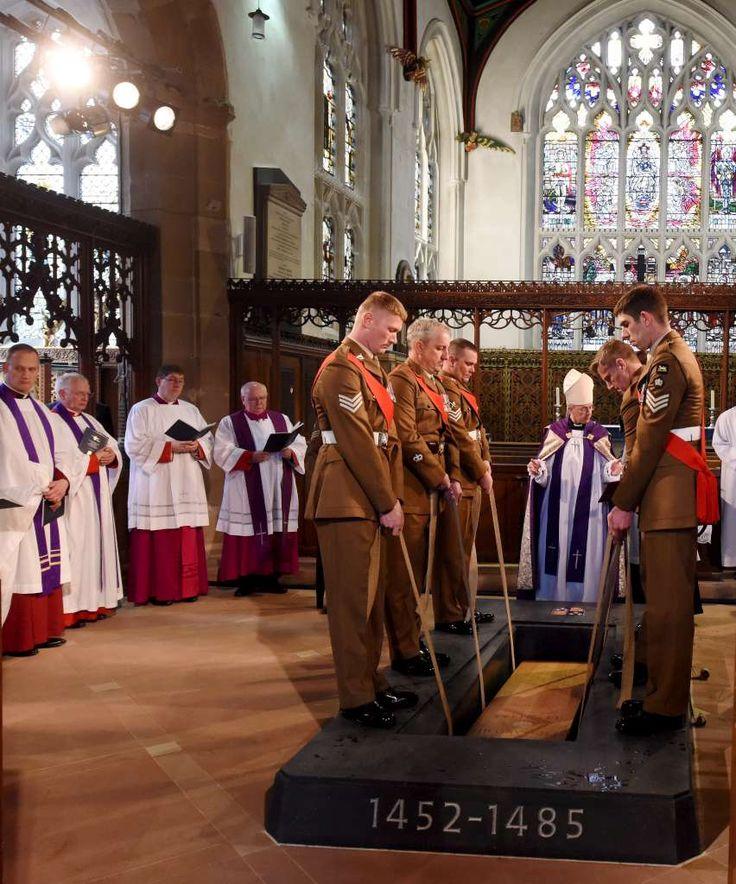King Richard III's Re-interment Ceremony