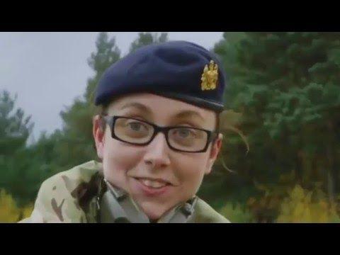 British Army Girls Episode 1 - New military documentary 2016