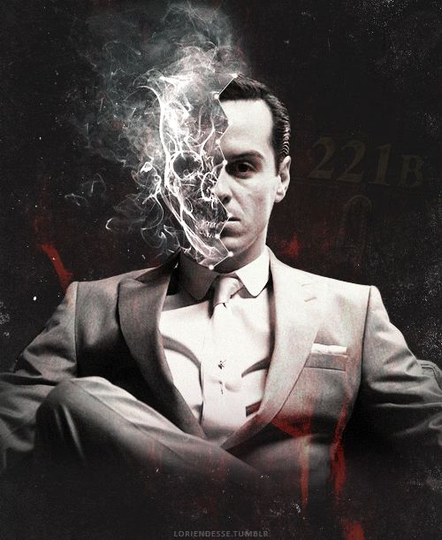 """ … hell is something you carry around with you. ―Neil Gaiman "" url graphic for moriarty221b "" """
