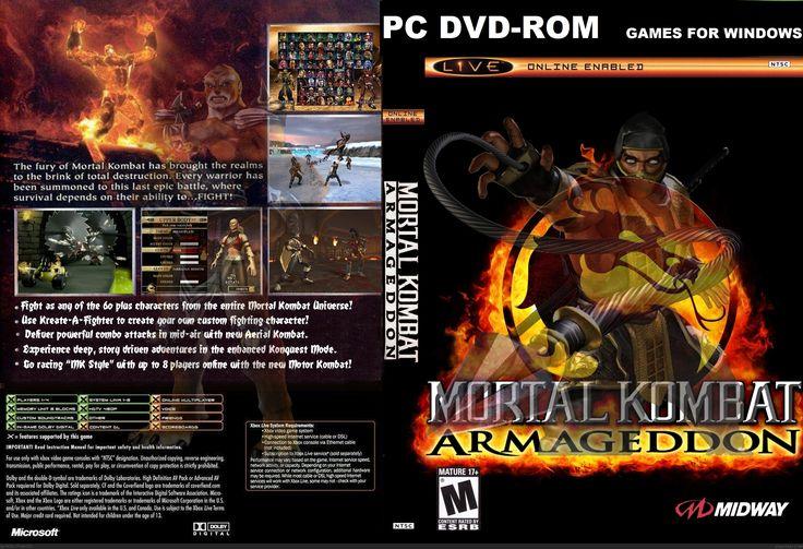 Mortal Kombat Armageddon Download PC Game Free