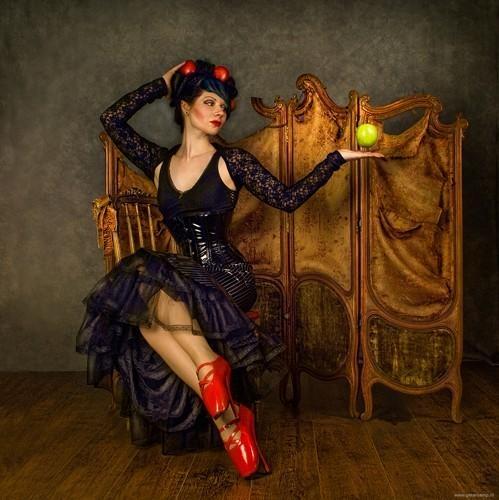 photo of the wonderful Seraphine Strange