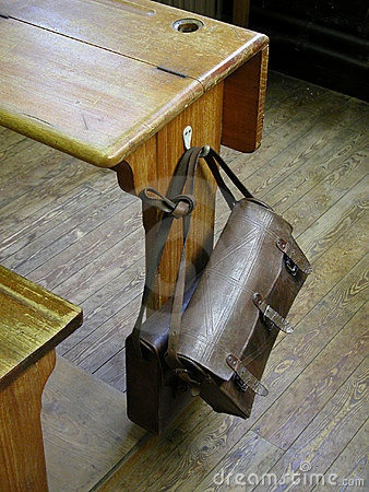 Old Time School Room | Old School Bench