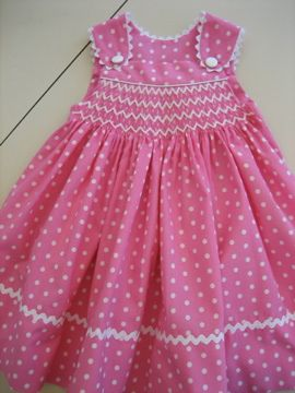 Smocked sundress   Flickr - Photo Sharing!...i have got to learn to smock!!
